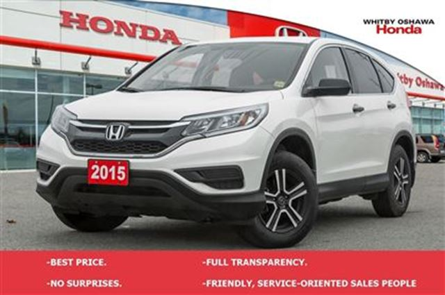 2015 honda cr v lx white whitby oshawa honda. Black Bedroom Furniture Sets. Home Design Ideas