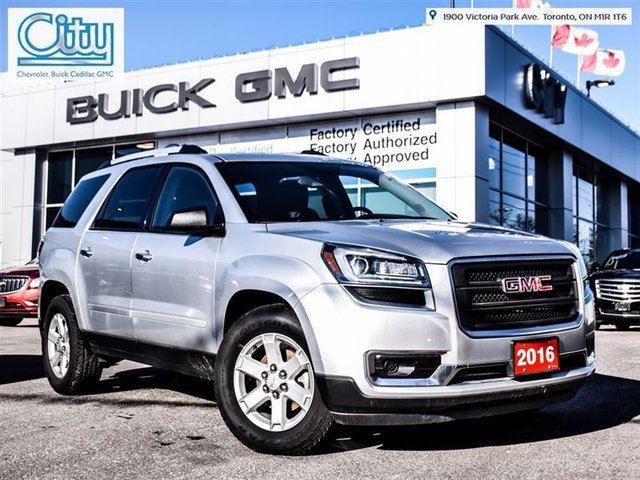 2016 gmc acadia sle toronto ontario used car for sale. Black Bedroom Furniture Sets. Home Design Ideas
