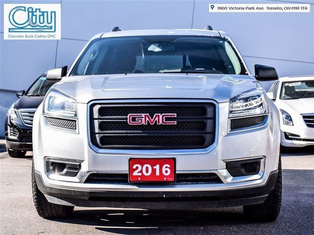 2016 gmc acadia sle toronto ontario used car for sale 2611254. Black Bedroom Furniture Sets. Home Design Ideas