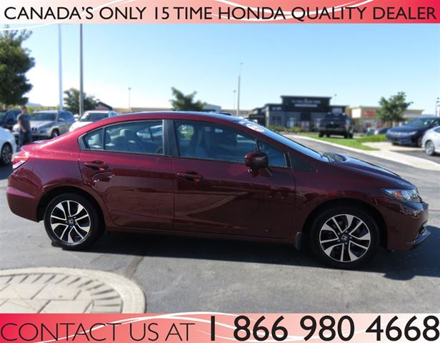 2014 honda civic ex sunroof low km 39 s auto certified for 2014 honda civic ex for sale