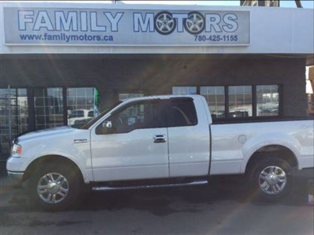 2008 Ford F 150 Lariat 4x4 Loaded White Family Motors
