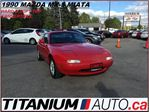1990 Mazda MX-5 Miata  Hard & Soft Top Convertible+Never Winter Driven+++ in London, Ontario