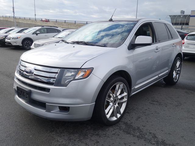 2010 Ford Edge Sport Silver Willowbrook Chrysler Jeep