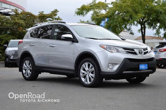 2013 toyota rav4 limited silver openroad toyota richmond. Black Bedroom Furniture Sets. Home Design Ideas
