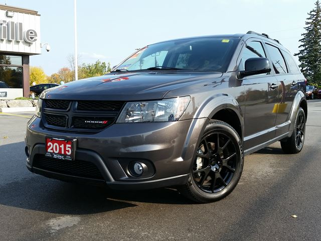 2015 dodge journey sxt blacktop edition remote start dark grey belleville dodge. Black Bedroom Furniture Sets. Home Design Ideas