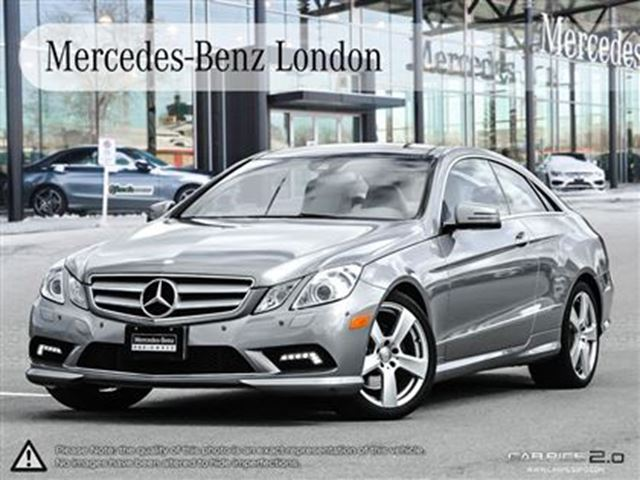 2011 mercedes benz e350 coupe navigation mercedes benz for Mercedes benz london
