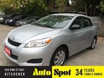 2014 Toyota Matrix MASSIVE CLEAROUT EVENT/PRICED FOR A QUICK SALE!! in Kitchener, Ontario