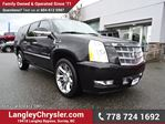 2012 Cadillac Escalade ESV W/ PLATINUM EDITION & ENTERTAINMENT PACKAGE in Surrey, British Columbia