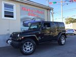 2012 Jeep Wrangler Unlimited ALTITUDE EDITION, 4X4, NAVIGATION, LEATHER, AUTOMATIC! $0 DOWN $211 BI-WEEKLY! in Ottawa, Ontario