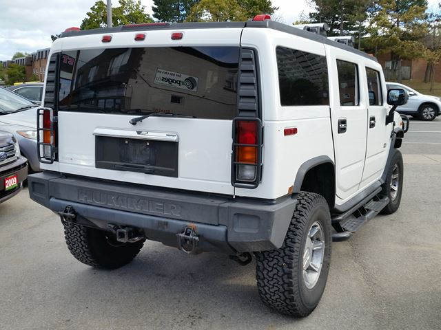 2003 hummer h2 on sale drives amazing scarborough ontario used car for sale 2612841. Black Bedroom Furniture Sets. Home Design Ideas