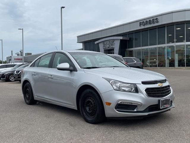 2016 Chevrolet Cruze Lt Camera Bluetooth Touch Screen Grey Forbes Motors Inc Wheels Ca