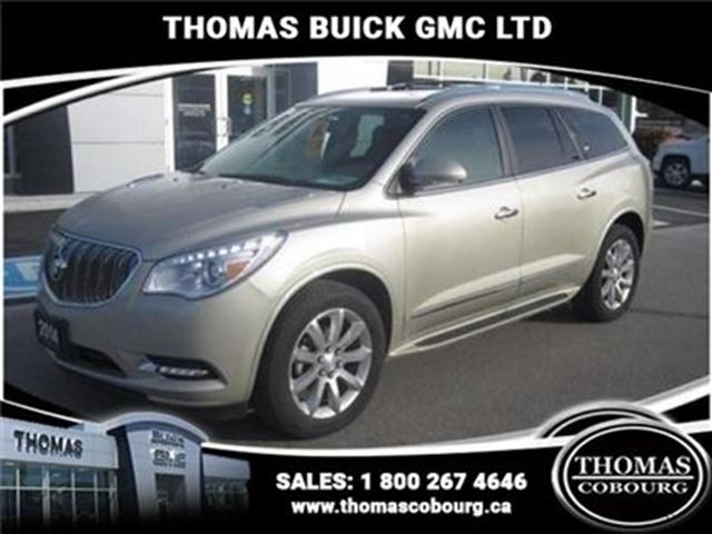 2014 BUICK ENCLAVE Leather - Certified - Bluetooth -  Leather Seats - in Cobourg, Ontario