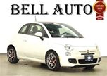 2012 Fiat 500 SPORT SUNROOF -  LEATHER - ALLOY WHEELS - 85 KILOM in Toronto, Ontario