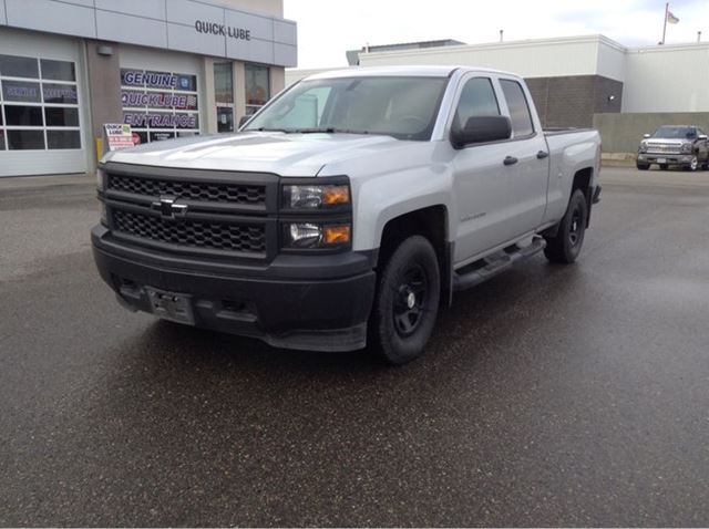 2014 Chevrolet Silverado 1500 4WD DBL CAB 143.5 in Prince George, British Columbia