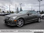 2012 Mercedes-Benz E-Class E350 4MATIC Coupe in Ottawa, Ontario