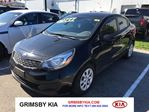 2014 Kia Rio LX+ ONE OWNER!!!!! in Grimsby, Ontario