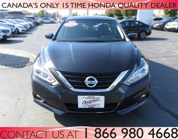 2016 Nissan Altima 2 5 Sv Low Km S Grey For 22488 In
