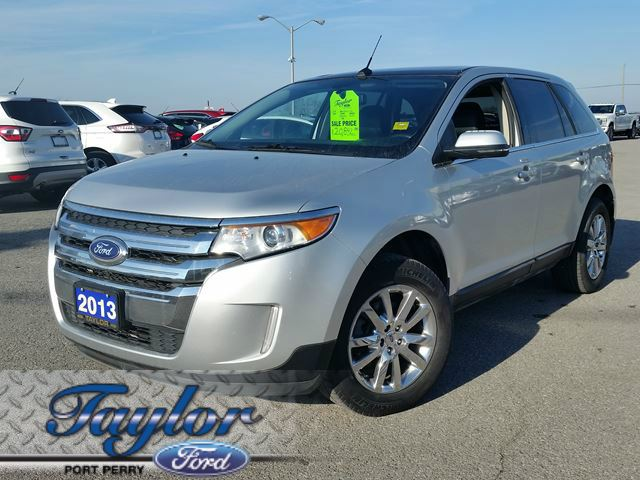 2013 ford edge limited awd leather nav 18 39 s silver taylor ford. Black Bedroom Furniture Sets. Home Design Ideas