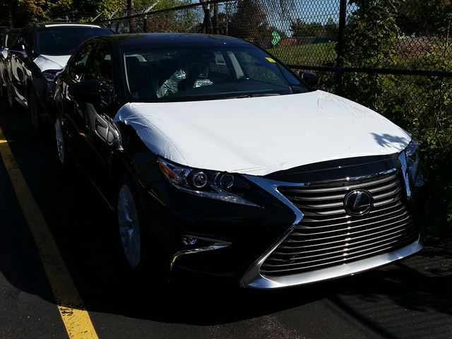 2017 Lexus Es 350 Executive Package Black Erin Park