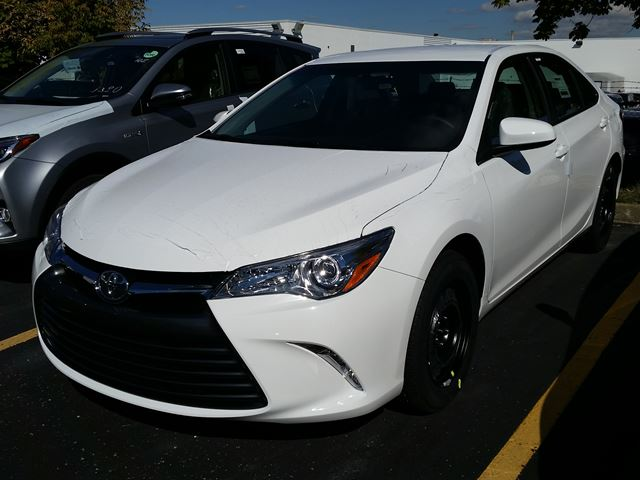 2017 toyota camry le white erin park toyota new car. Black Bedroom Furniture Sets. Home Design Ideas