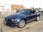 2012 Ford Mustang V6 PREMIUM**CONVERTIBLE**LEATHER**HEATED SEATS** in Mississauga, Ontario