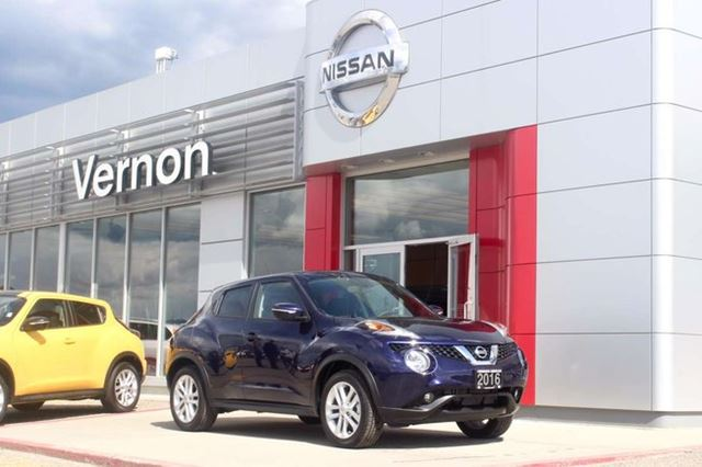 2016 NISSAN Juke SL in Vernon, British Columbia