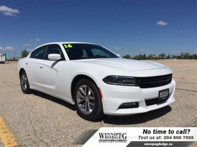 2016 Dodge Charger SXT Plus w/Sunroof *Accident-Free* in Winnipeg, Manitoba
