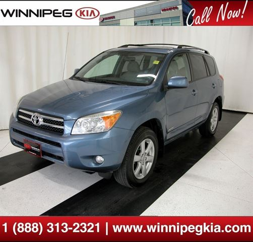 2007 toyota rav4 limited winnipeg manitoba used car for. Black Bedroom Furniture Sets. Home Design Ideas