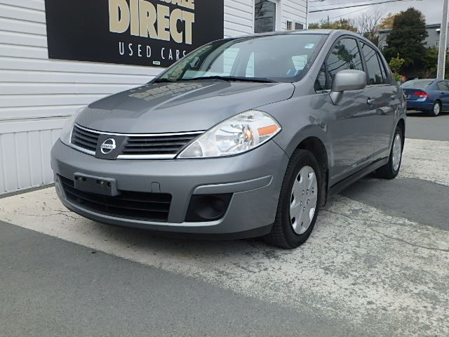 2007 nissan versa sedan s 1 8 l grey o 39 regan 39 s wholesale direct halifax. Black Bedroom Furniture Sets. Home Design Ideas