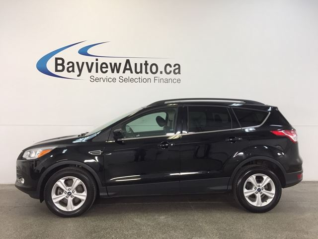 2016 ford escape se 4wd ecoboost panoroof leather sync black bayview auto sales. Black Bedroom Furniture Sets. Home Design Ideas