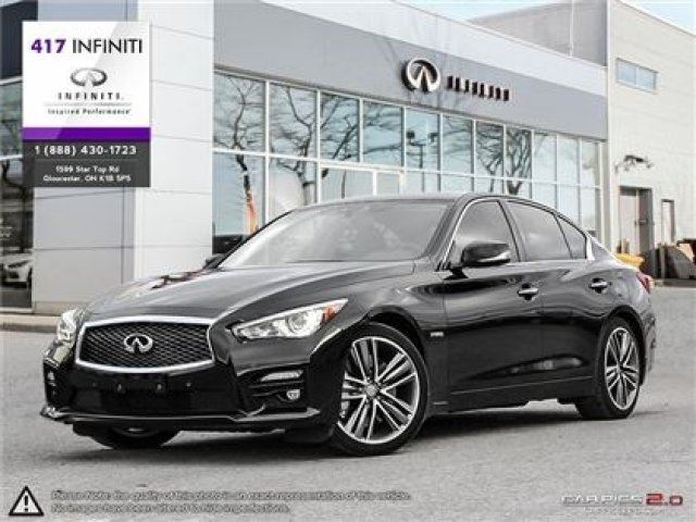 2014 infiniti q50 sport tech awd hybrid ottawa ontario used car for sale 2614741. Black Bedroom Furniture Sets. Home Design Ideas