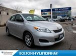 2010 Toyota Matrix Auto CarproofClean Keyless A/C CD in Bolton, Ontario