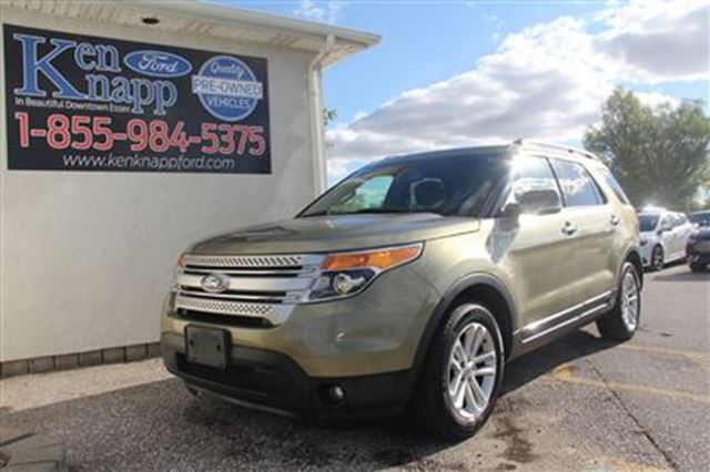 2012 ford explorer xlt essex ontario used car for sale 2615303. Cars Review. Best American Auto & Cars Review