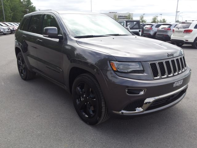 2016 jeep grand cherokee overland high altitude granite 4x4 diesel 228 joliette quebec used. Black Bedroom Furniture Sets. Home Design Ideas