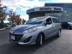 2015 Mazda MAZDA5 GS w/ BLUETOOTH, CRUISE, ALLOY WHEELS in Barrie, Ontario