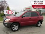 2007 Kia Sportage LX-Convenience /WITH NEW TIRES INCLUDED! in Winnipeg, Manitoba