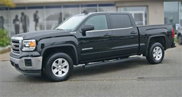 2015 gmc sierra 1500 sle 4x4 low km rear cam black humberview. Black Bedroom Furniture Sets. Home Design Ideas