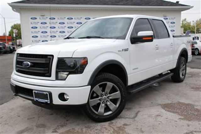 2014 ford f 150 supercrew 4x4 ecoboost v6 tonneau cover welland ontario used car for sale. Black Bedroom Furniture Sets. Home Design Ideas
