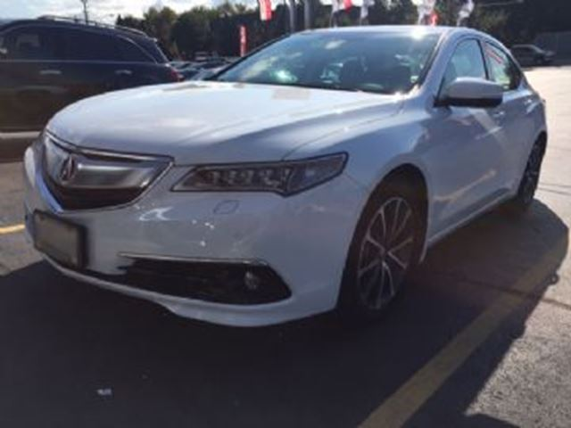 2015 Acura TLX 4dr Sdn AWD ELITE MODEL - Mississauga, Ontario Used Car For Sale - 2616720