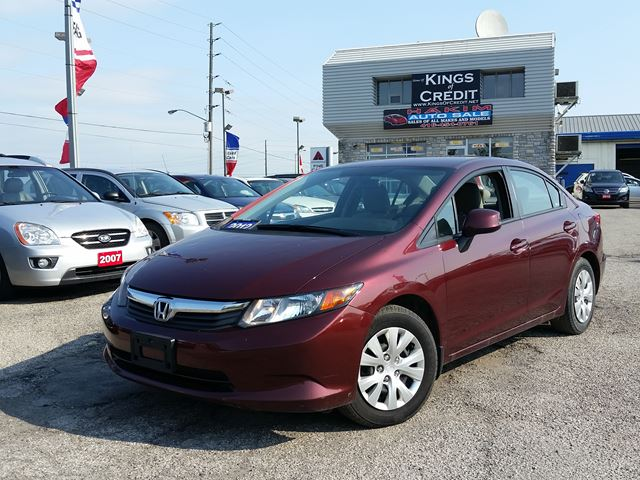 2012 honda civic lx pickering ontario used car for sale for Honda civic lx 2012