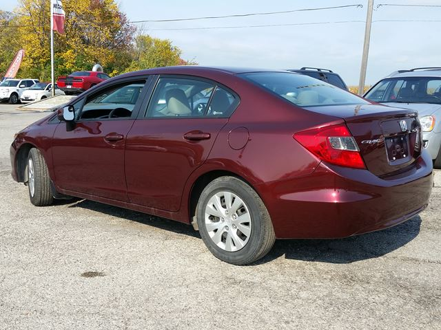2012 honda civic lx pickering ontario used car for sale 2616320. Black Bedroom Furniture Sets. Home Design Ideas