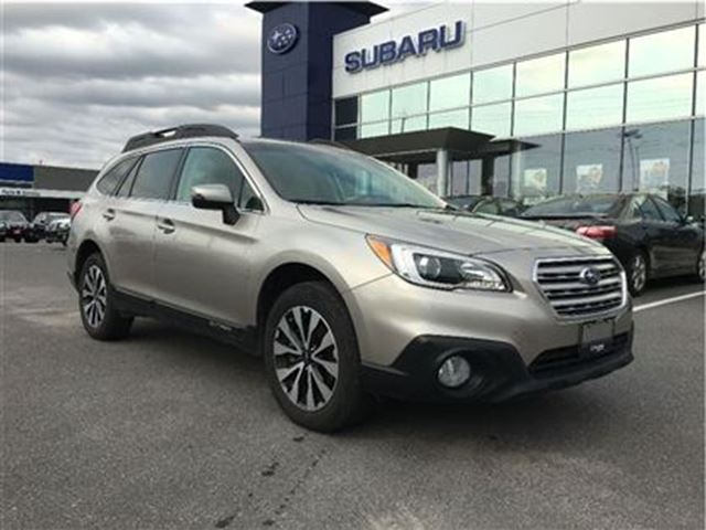 2015 subaru outback 3 6r limited kingston ontario used car for sale 2616814. Black Bedroom Furniture Sets. Home Design Ideas