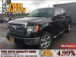 2014 Ford F-150 XLT 4WD LEATHER 20 CHROME JET BLACK FINISH in St Catharines, Ontario