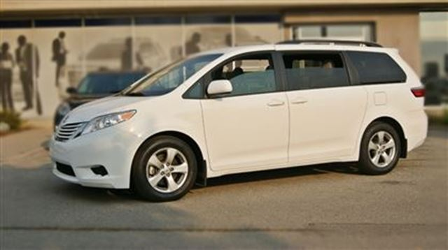2016 Toyota Sienna Le 8 Passenger Pwr Sliding Doors Rear Cam Toronto Ontario Used Car For