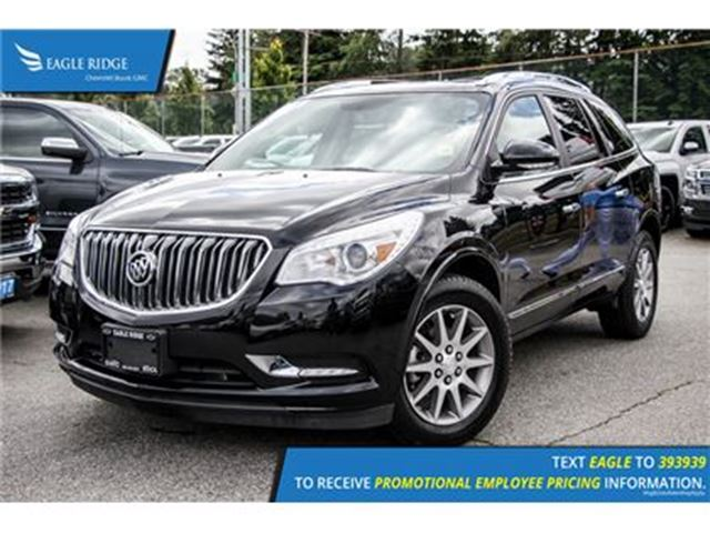 2016 BUICK ENCLAVE Leather Satellite Radio and Backup Camera Satellit in Coquitlam, British Columbia