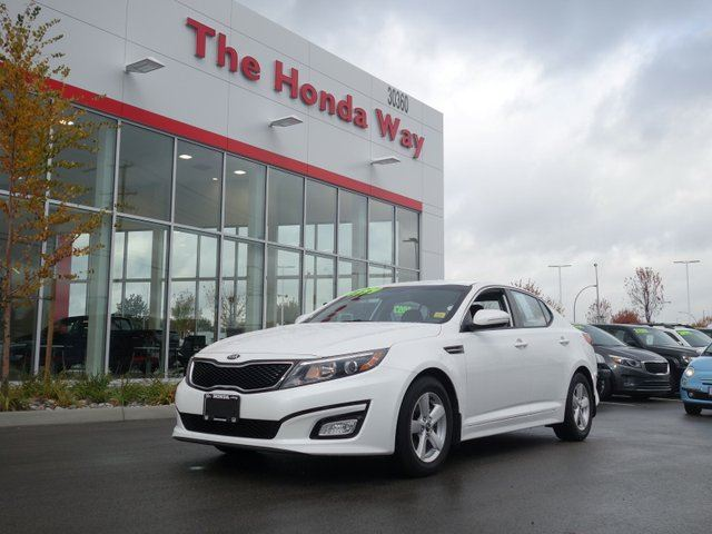2015 KIA Optima LX - LIKE NEW!! in Abbotsford, British Columbia