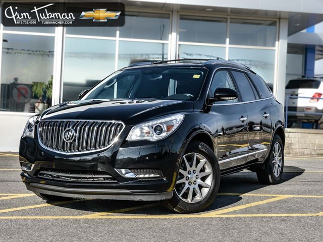 2016 buick enclave leather black jim tubman motors. Black Bedroom Furniture Sets. Home Design Ideas