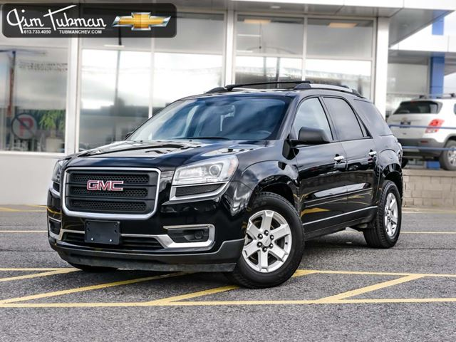 2016 gmc acadia sle2 ottawa ontario used car for sale 2617395. Black Bedroom Furniture Sets. Home Design Ideas