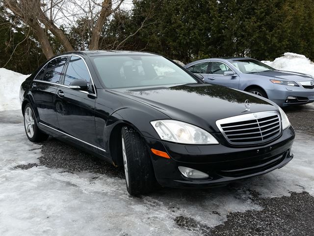 2007 mercedes benz s class v8 ottawa ontario used car for 2007 mercedes benz s class for sale
