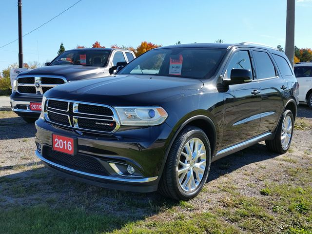 2016 dodge durango limited awd black simcoe county chrysler. Black Bedroom Furniture Sets. Home Design Ideas